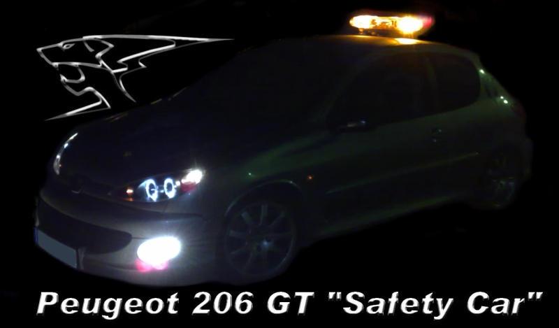 206 gt safety car. Black Bedroom Furniture Sets. Home Design Ideas